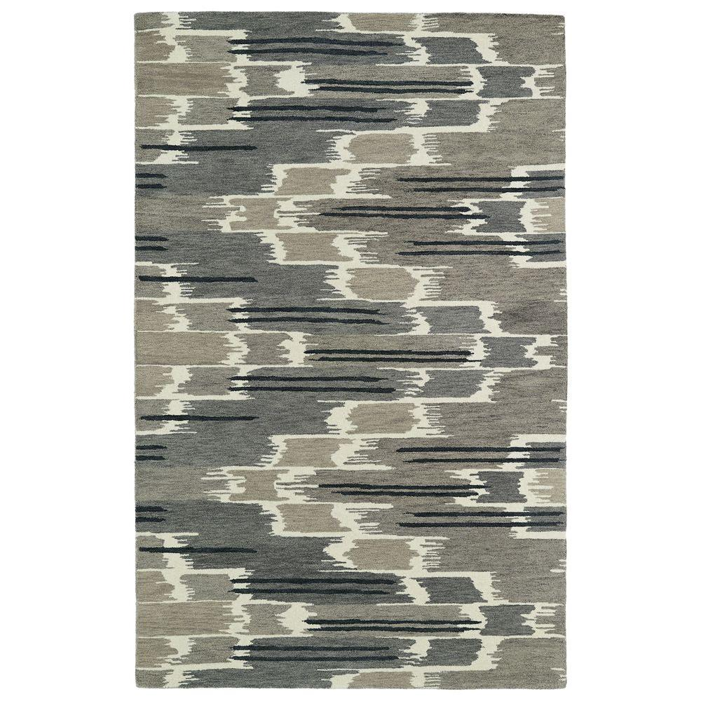 Kaleen Global Inspiration Grey 5 ft. x 7 ft. 9 in. Area Rug
