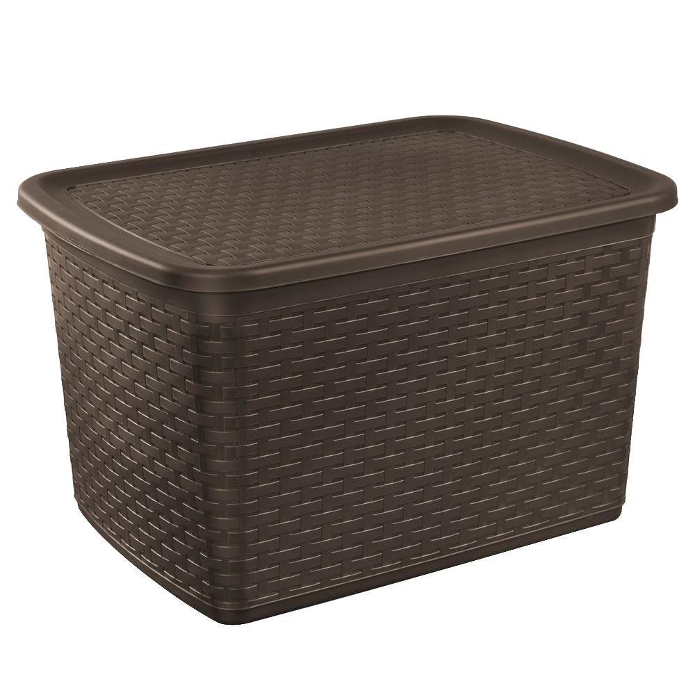 Weave Storage Tote (4-Pack)