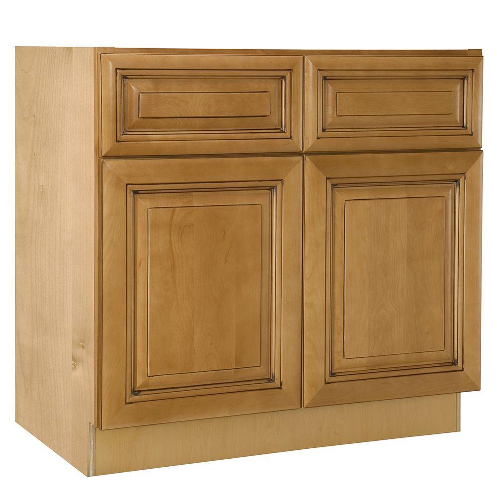 Home decorators collection lewiston assembled for Assemble kitchen cabinets