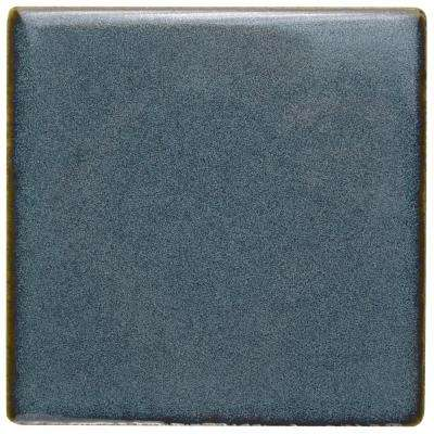 Essence Sea Blue 4 in. x 4 in. Porcelain Floor and Wall Tile