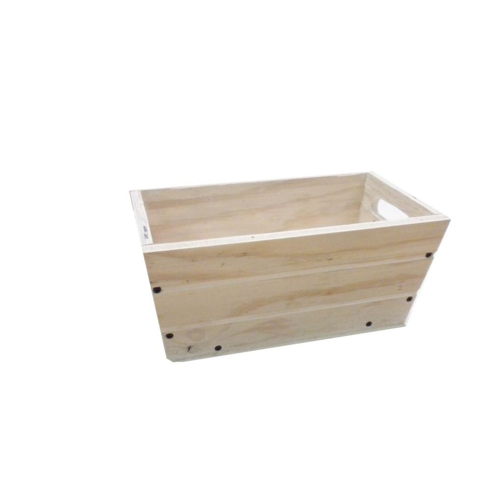 16 in. Patio Wood Planter in White