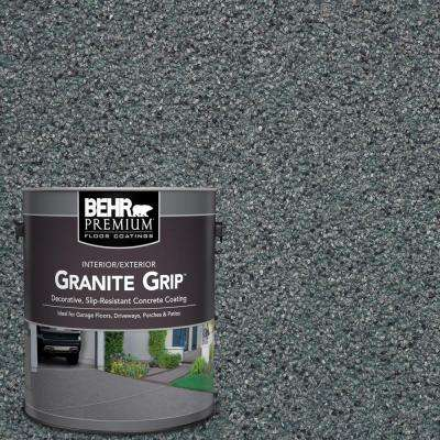 1 gal. #GG-02 Stone Valley Decorative Flat Interior/Exterior Concrete Floor Coating