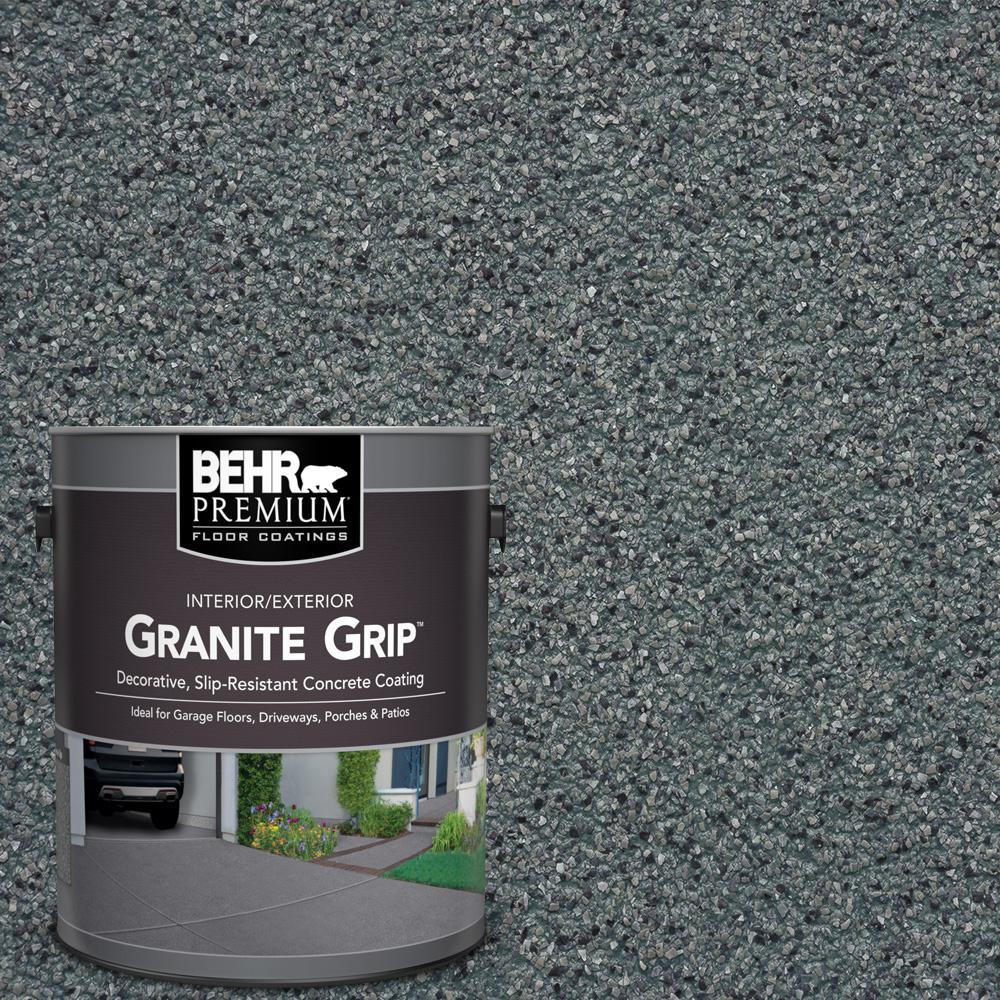 1 gal. #GG-02 Stone Valley Decorative Concrete Floor Coating