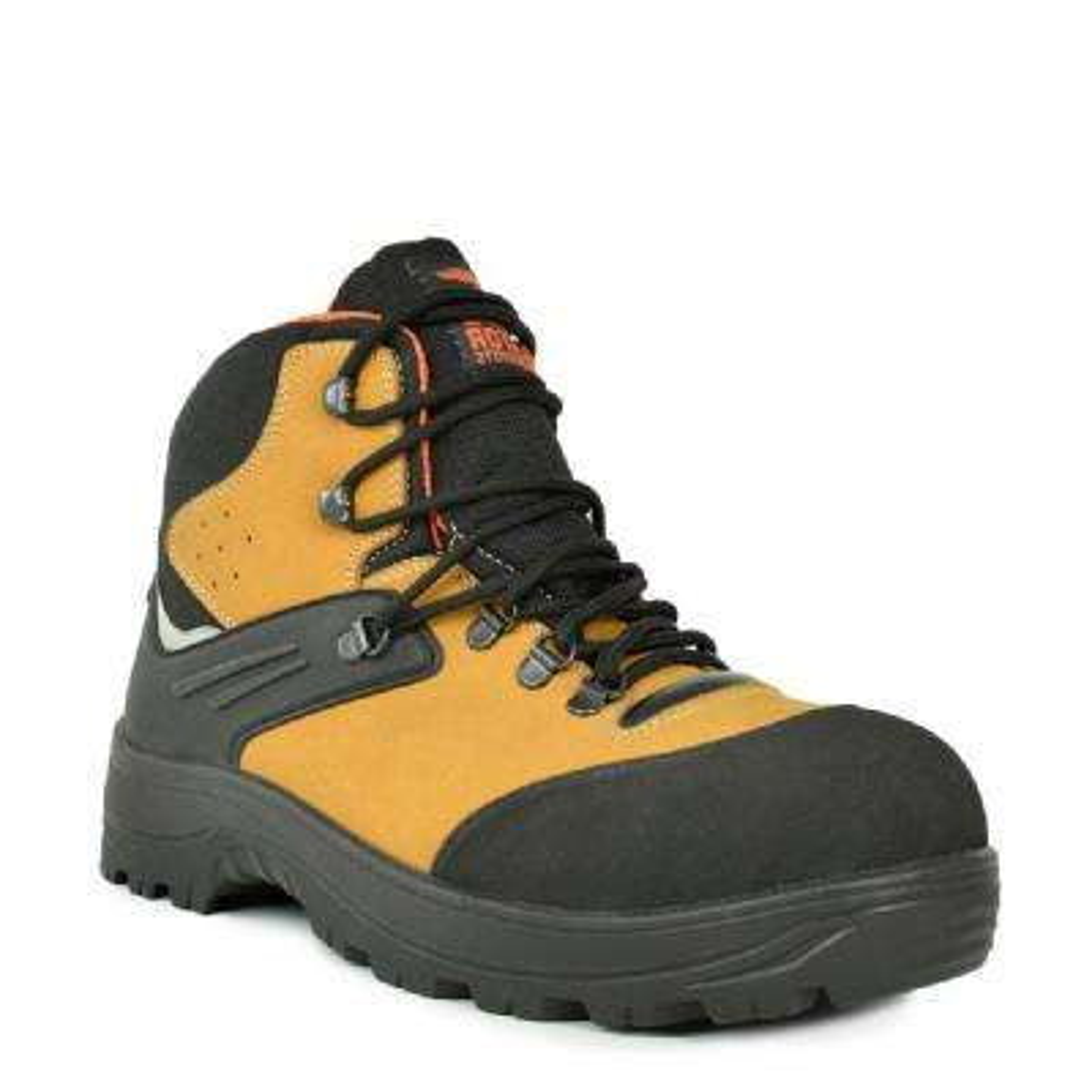 Gator Cadet Men's Size 8.5 Camel and Black Natural Leather Work Boot