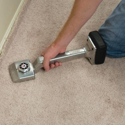 Deluxe Carpet Knee Kicker with Adjustable Length from 17 in. to 21 in.