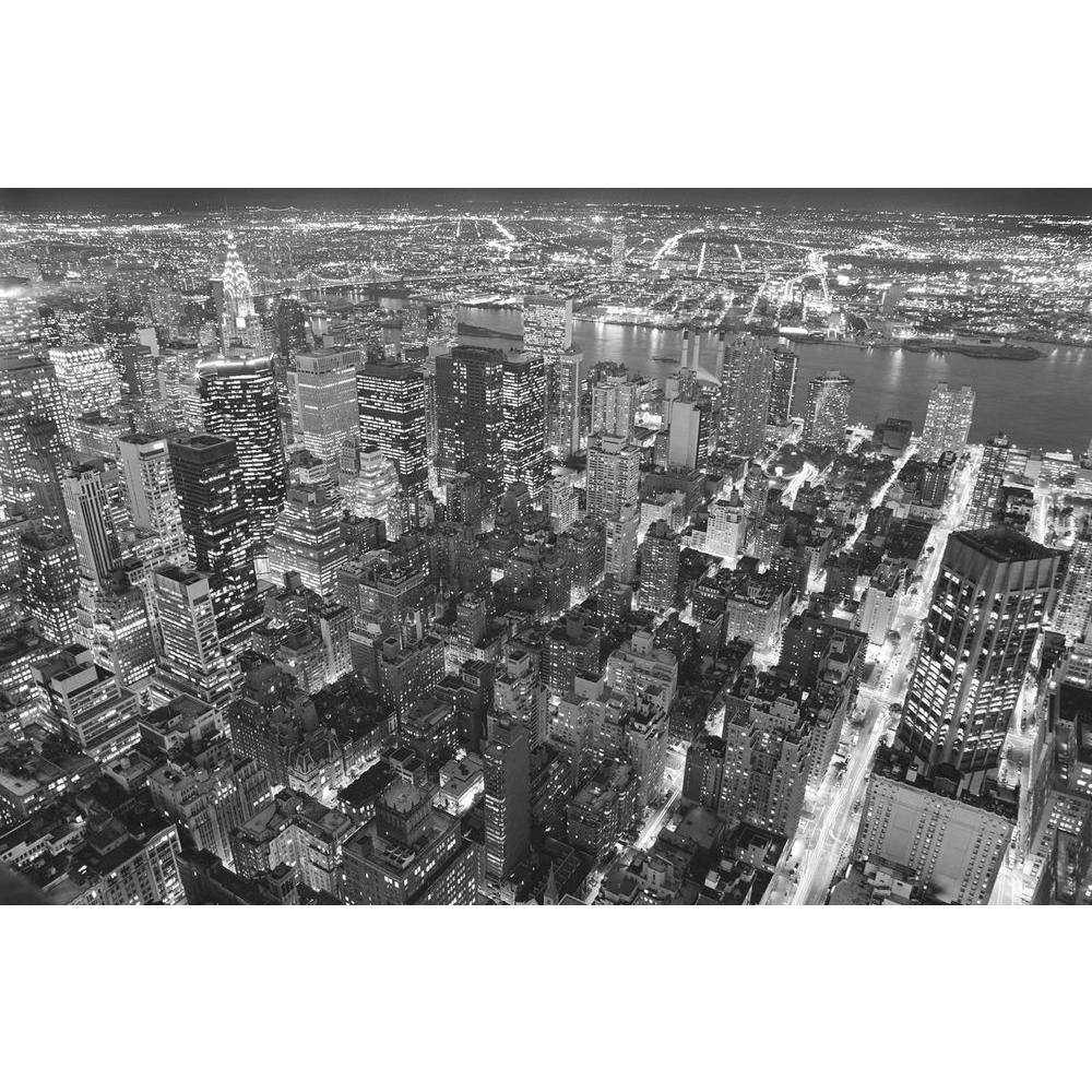 45 in. x 69 in. Empire State Building East View Wall