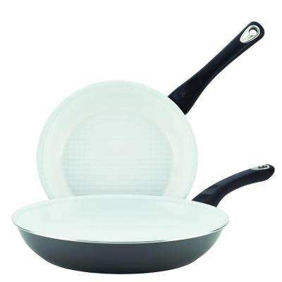 Purecook Aluminum Stovetop Skillet Set With Nonstick Coating