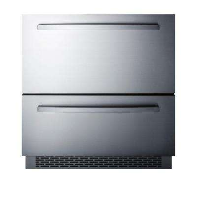 30 in. 5.3 cu. ft. Freezerless Refrigerator Drawer in Stainless Steel