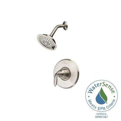 Avalon Single-Handle Shower Faucet Trim Kit in Brushed Nickel (Valve Not Included)