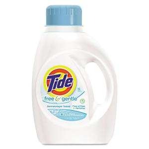 Tide 100 oz  Free and Gentle HE Liquid Laundry Detergent (64