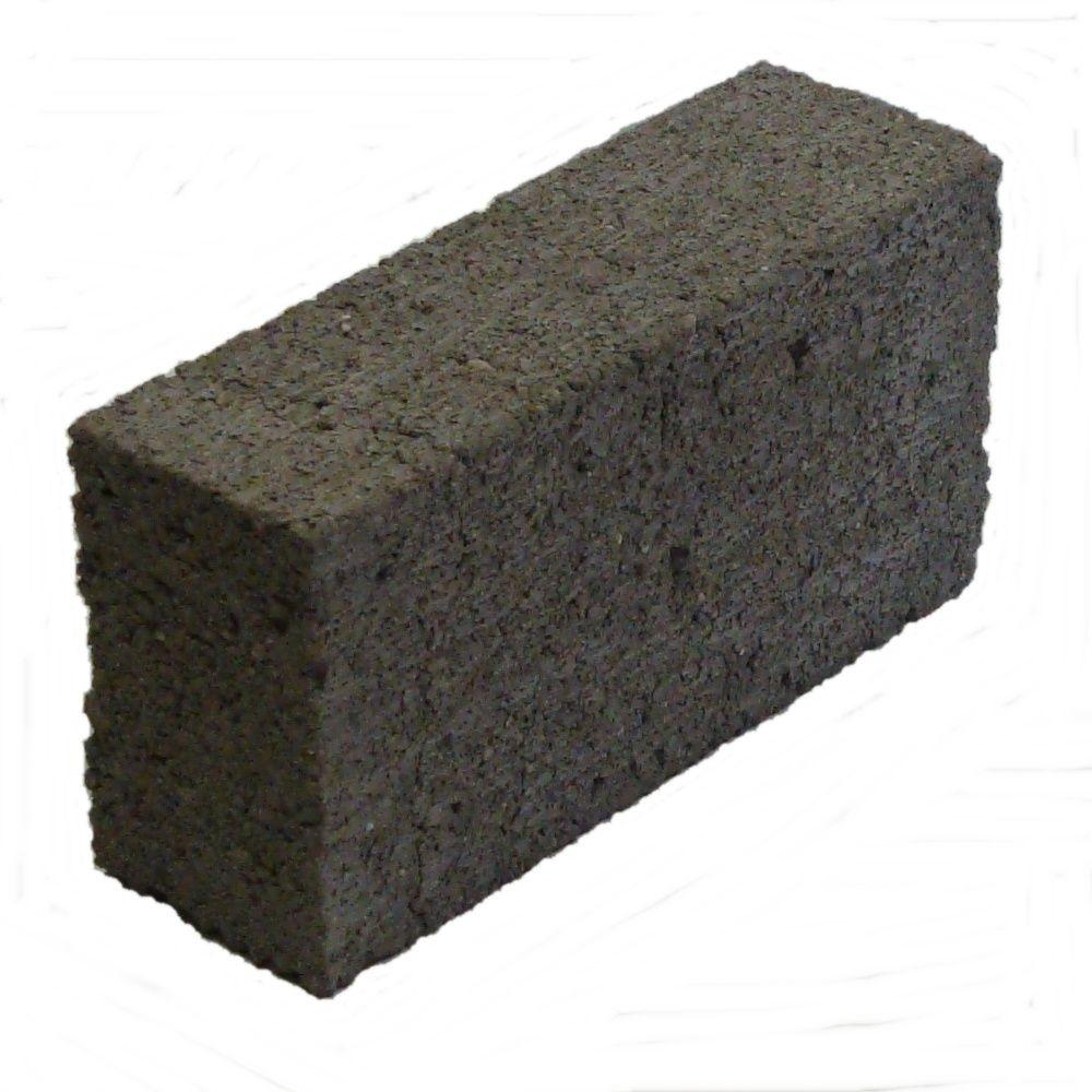 null 8 in. x 4 in. x 2 in. Cement Brick