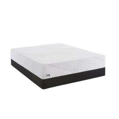Conform Essentials 9.5 in. Twin Firm Mattress with 5 in. Low Profile Foundation