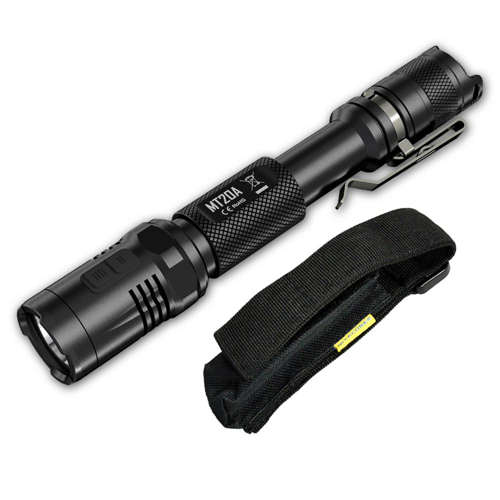 Multi-Task MT20A 2AA 360 Lumens LED Flashlight with Red Light