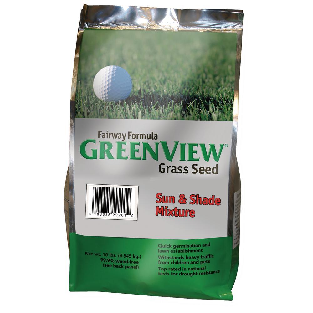 10 lb. Fairway Formula Sun and Shade Grass Seed Mixture