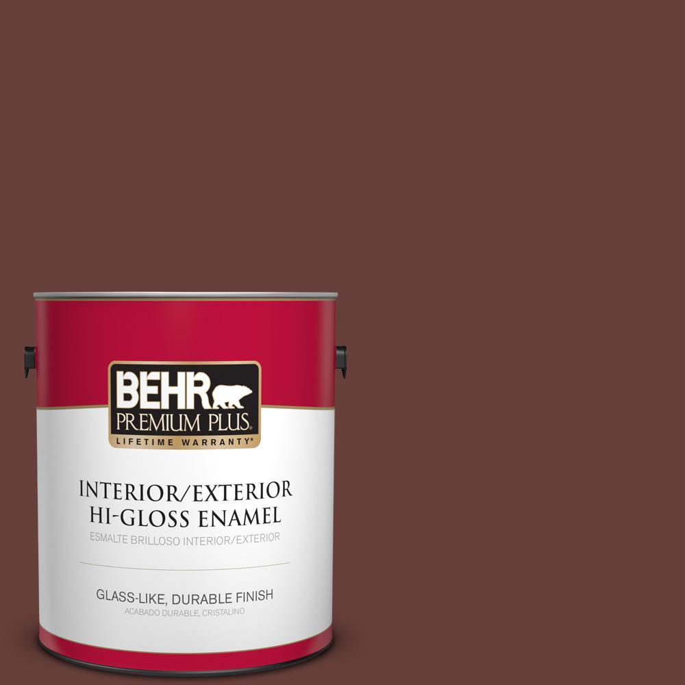 1 gal. #PPU2-01 Chipotle Paste Hi-Gloss Enamel Interior/Exterior Paint