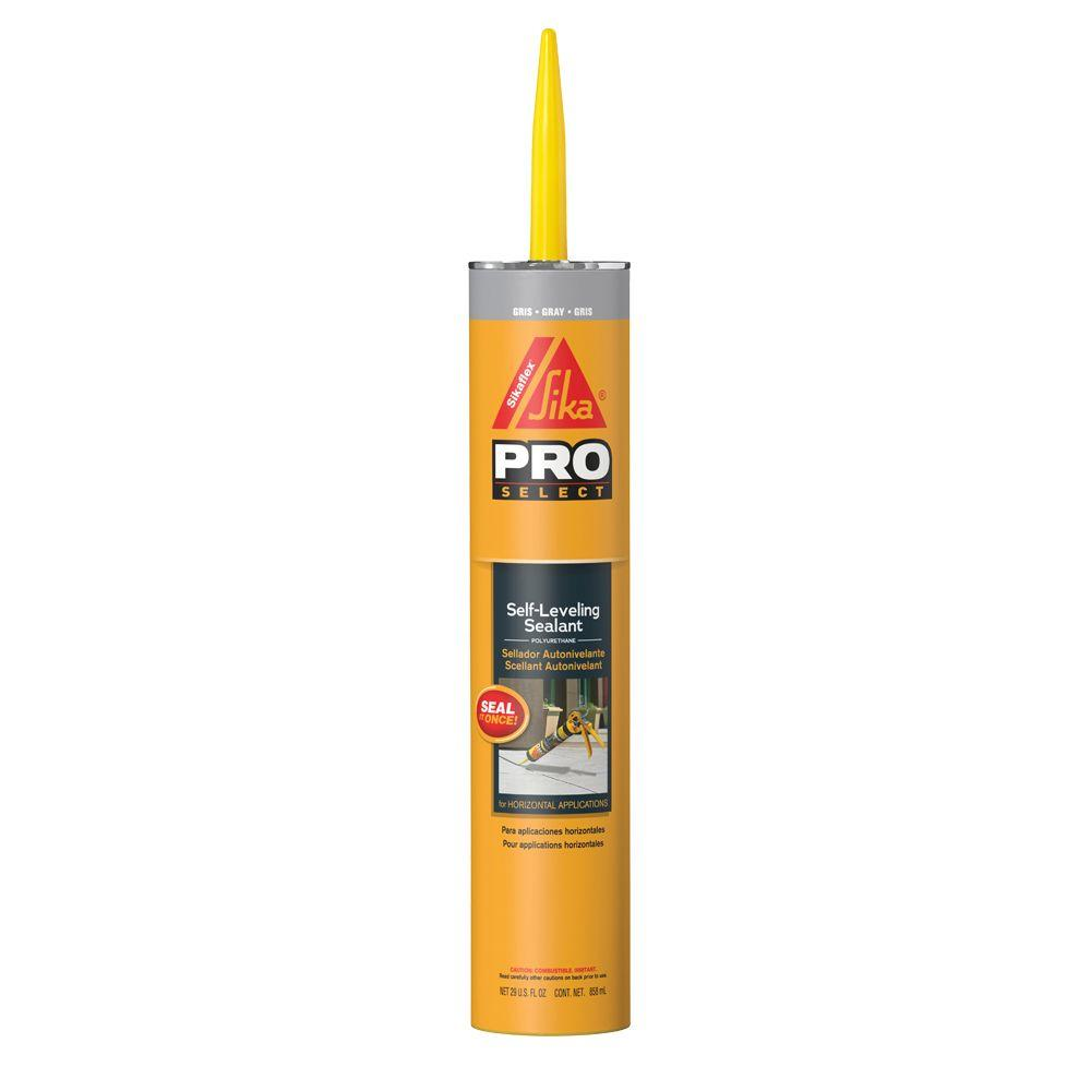 Sikaflex 29 fl. oz. Grey Self-Leveling Sealant-106711 - The Home Depot