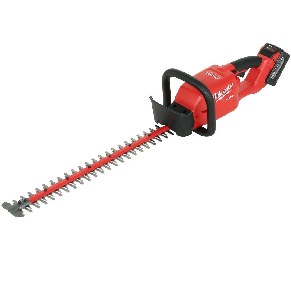 Milwaukee M18 FUEL 18-Volt Lithium-Ion Brushless Cordless Hedge Trimmer Kit  with 9.0