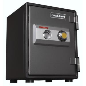 First Alert 0.80 cu. ft. Capacity and Solid Steel Fire Resistant Safe by First Alert
