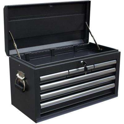 26 in. 6-Drawer Tool Chest, Powdercoat Black