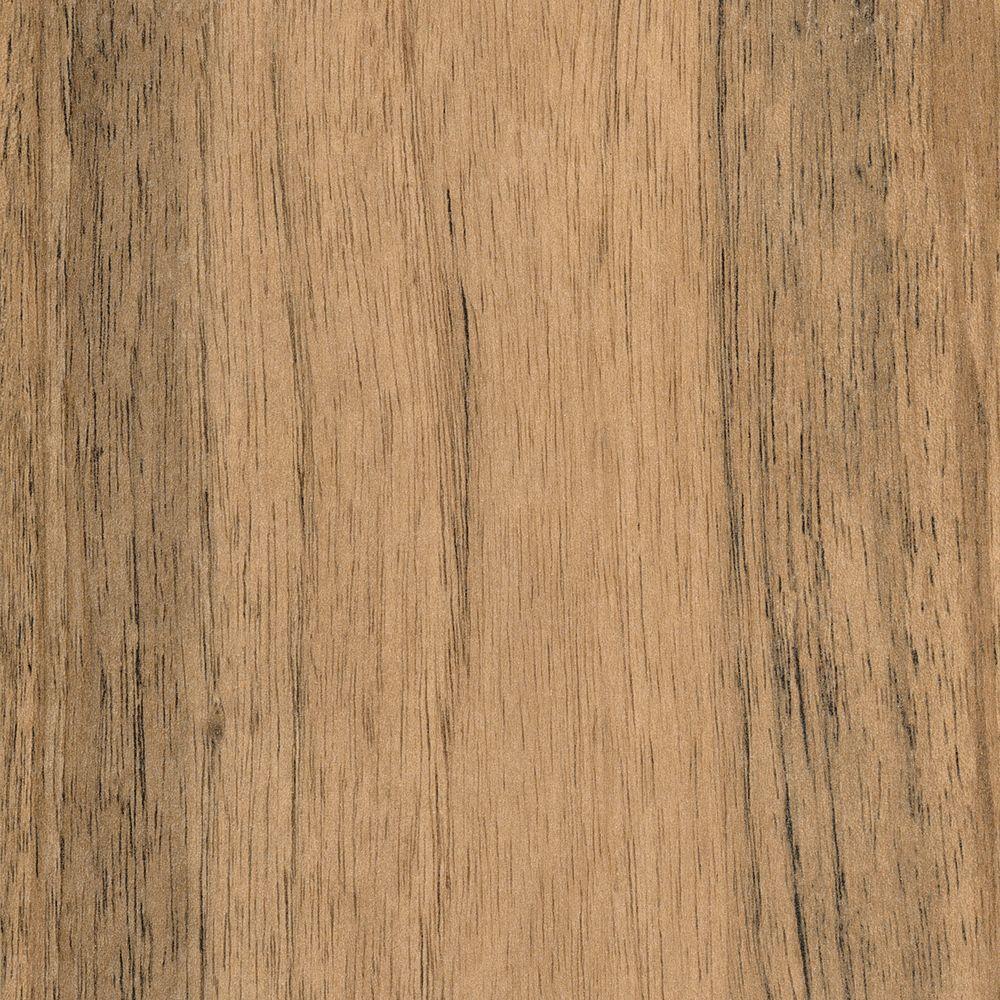 Textured Walnut Malawi Laminate Flooring - 5 in. x 7 in. Take Home Sample