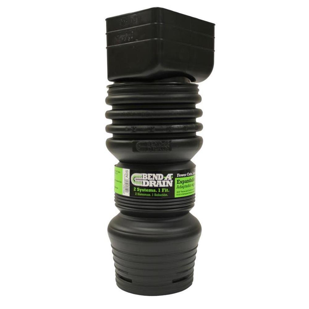 3.25 in. x 2.5 in. Bend Drain Downspout Adaptor
