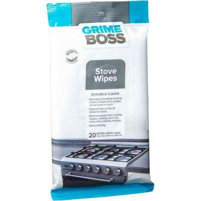 Stove Wipes (20-Count)