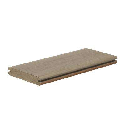 PRO Legacy 1 in. x 5.36 in. x 1 ft. Ashwood Composite Deck Board Sample