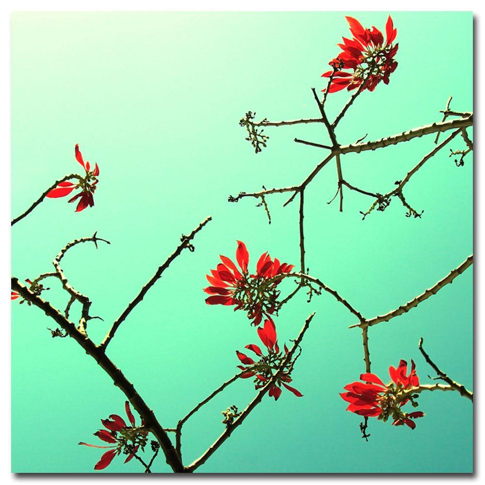 null 24 in. x 24 in. A Touch of Red Canvas Art