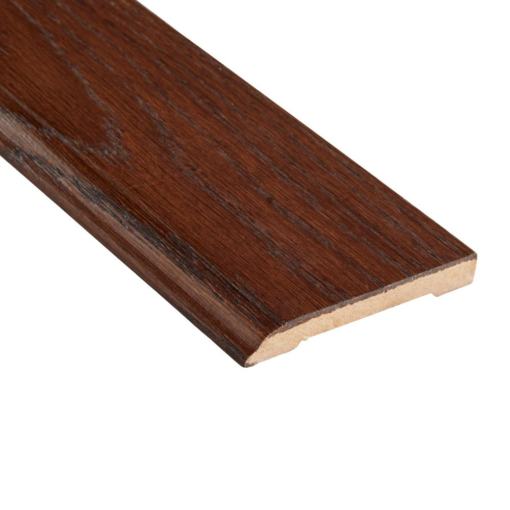 Home Legend Distressed Barrett Hickory 1/2 in. Thick x 3-1/2 in. Wide x 94 in. Length Hardwood Wall Base Molding
