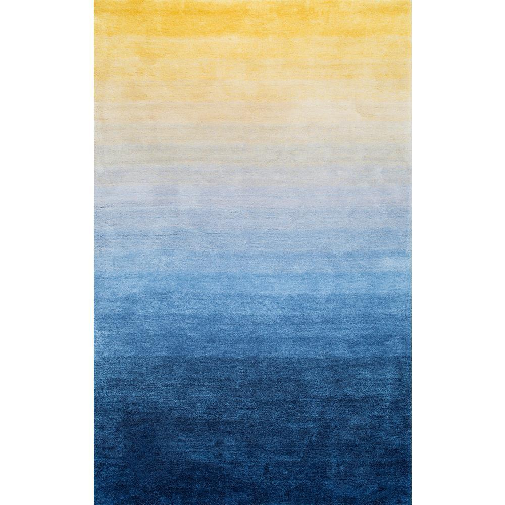 Nuloom Ombre Hertha Gy Navy 5 Ft X 8 Area Rug Hjos04a 508 The Home Depot