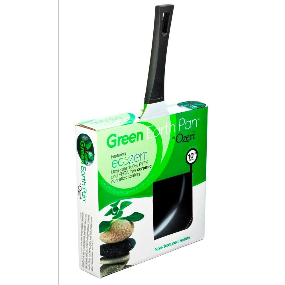 Ozeri 12 in  Green Earth Frying Pan with Smooth Ceramic Non