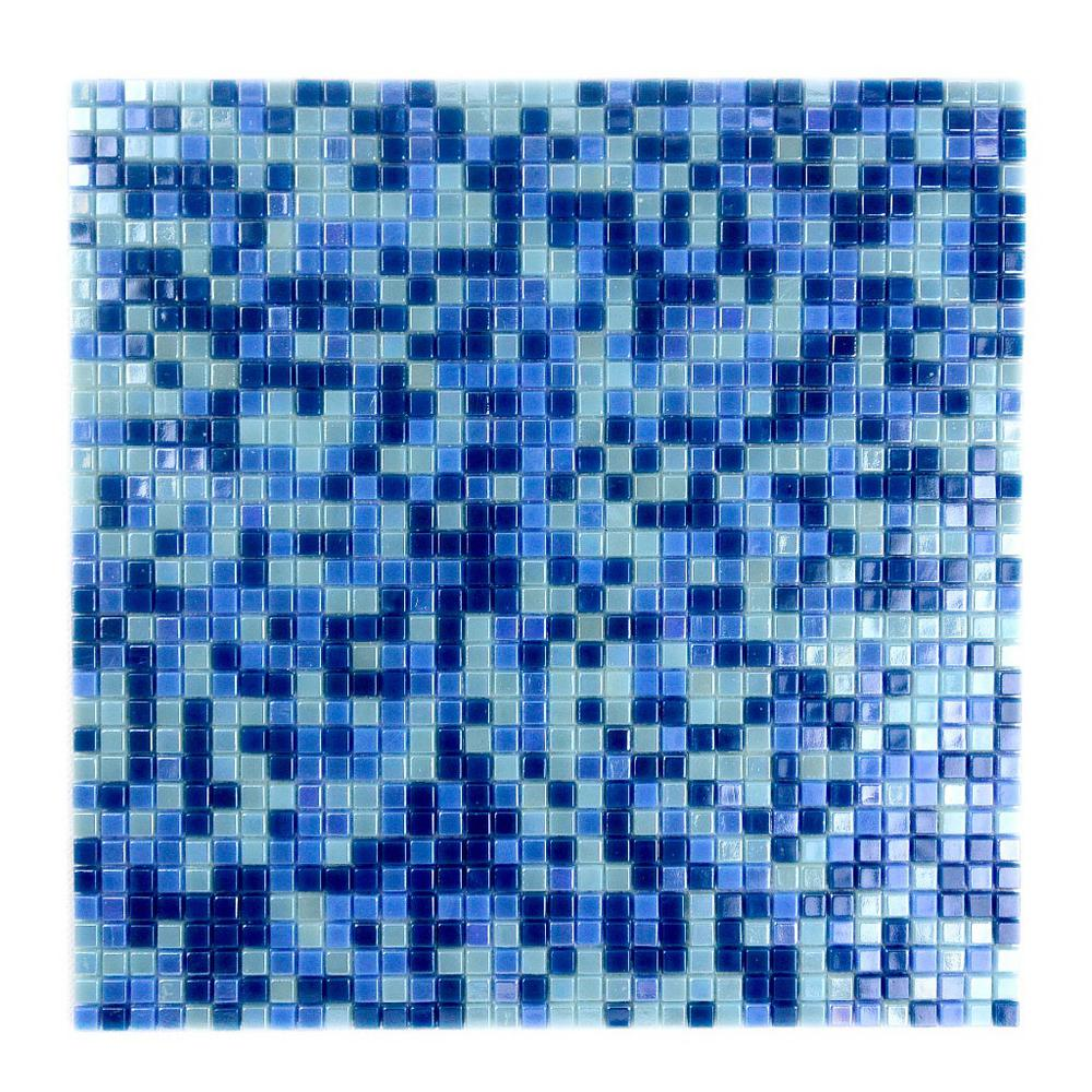 Constellation Blue Green Mix 11.7 in. x 11.7 in. x 3.20