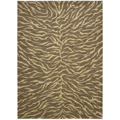 Riviera Chocolate 8 ft. x 11 ft. Area Rug