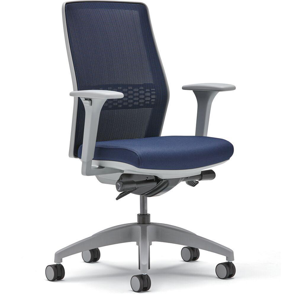 Lyric Navy Lumbar Task Chair