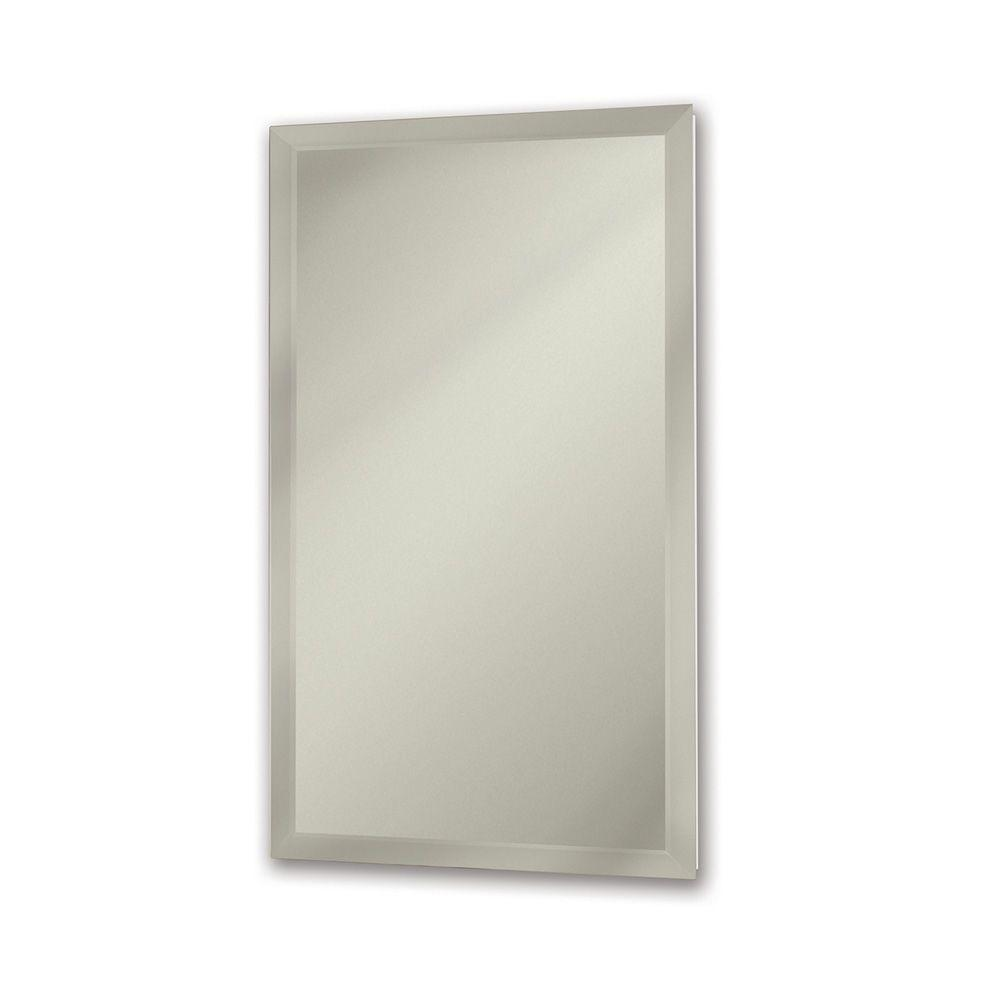 Gallery Deluxe 15 in. Recessed or Surface Mount Medicine Cabinet in