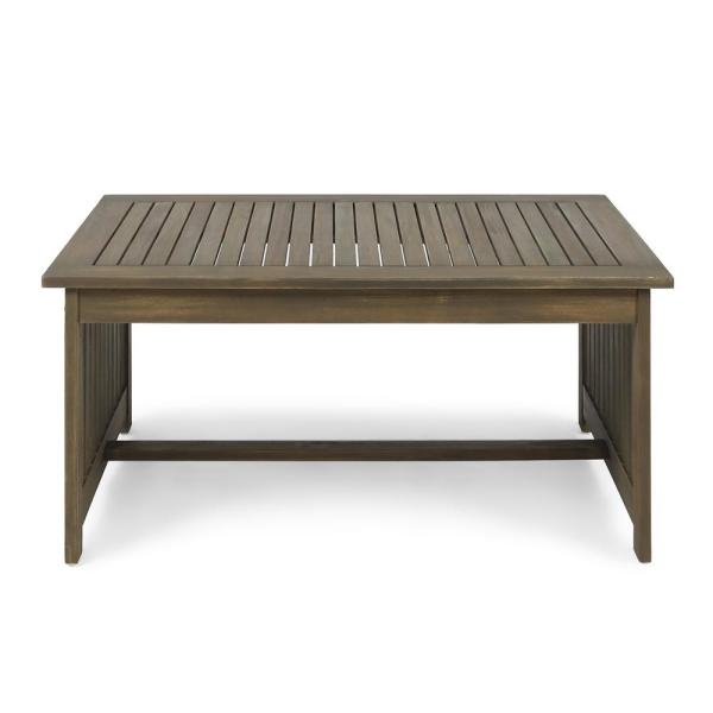 Casa Grey Rectangular Wood Outdoor Coffee Table