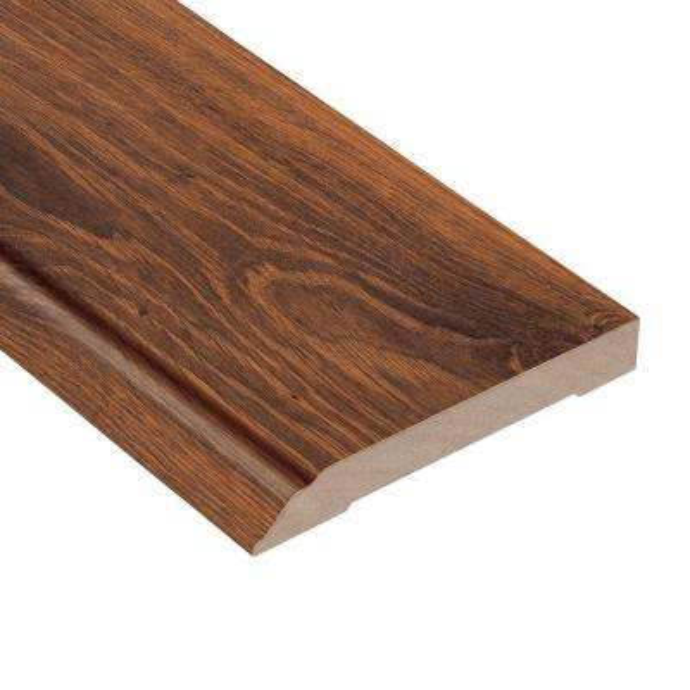 Santa Cruz Walnut 1/2 in. Thick x 3-13/16 in. Wide x 94 in. Length Laminate Wall Base Molding