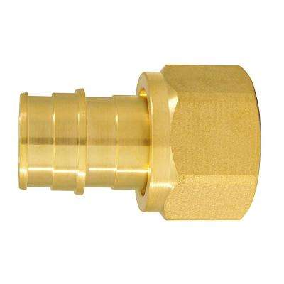 3/4 in. Brass PEX-A Expansion Barb x 3/4 in. FNPT Female Swivel Adapter