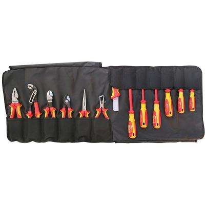 13-Piece Electrician's 1000-Volt Insulated Tool Set in Tool Roll
