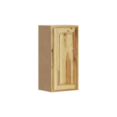 Madison Assembled 15x30x12 in. Wall Cabinet in Hickory