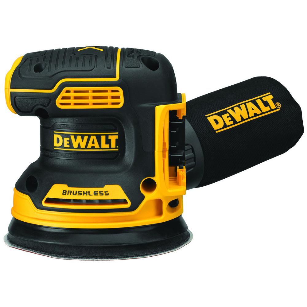 DEWALT 20-Volt MAX Lithium-Ion Cordless Brushless 5 in. Random Orbit Sander (Tool Only)