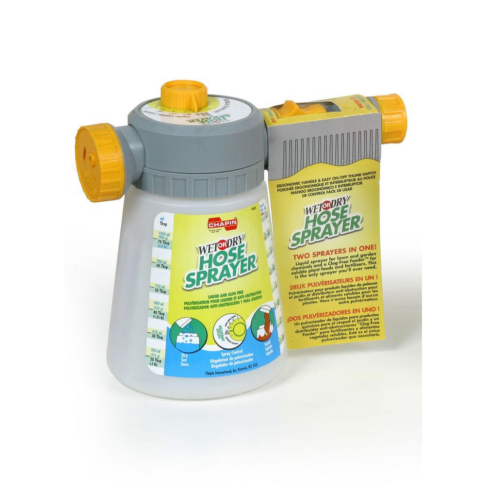Liquid Or Powder Metered Specialty Hose End Sprayer