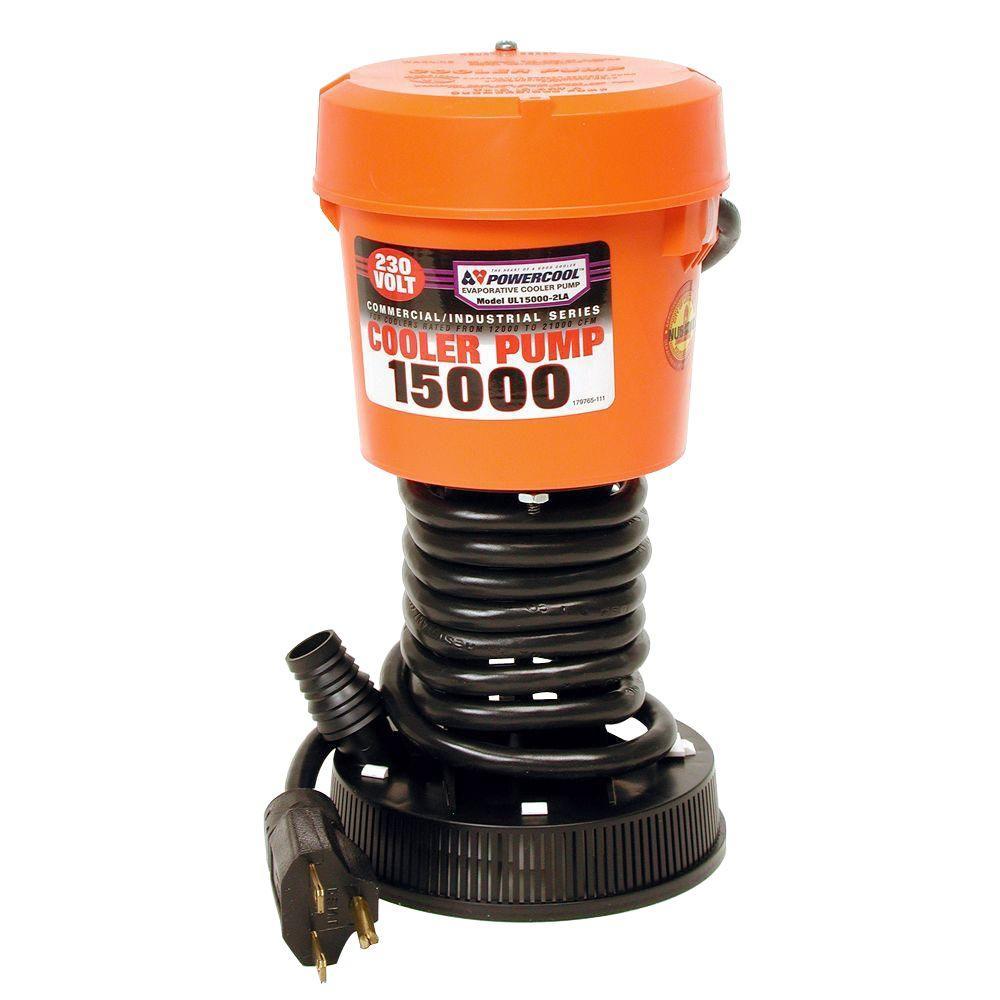 DIAL UL15000-2LA 230-Volt Industrial Evaporative Cooler Pump