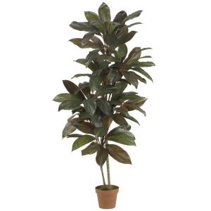 Indoor 5 ft. Cordyline ''Real Touch'' Silk Plant