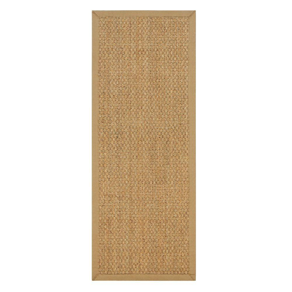 Home Decorators Collection Seascape Natural 2 ft. 6 in. x 12 ft. Runner