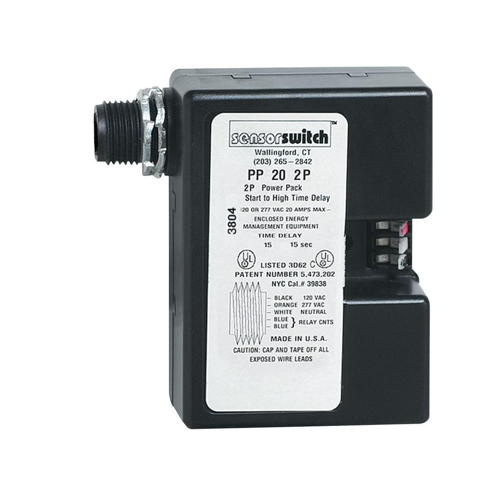 Lithonia Lighting Power Pack for Low-Voltage Sensors-PP20 - The Home ...