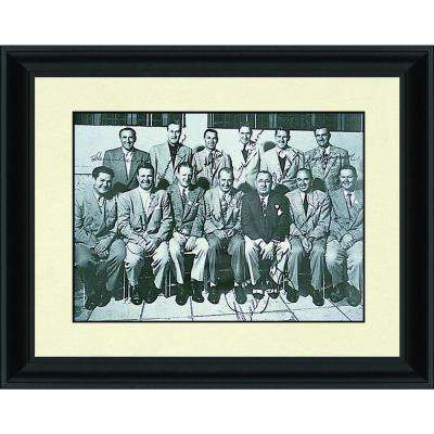 21.in x 27.in''1947 US Ryder Cup Team'' By PTM Images Framed Printed Wall Art