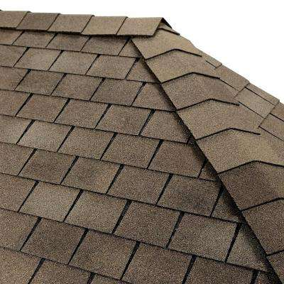Timbertex Weathered Slate Premium Hip and Ridge Shingles (20 lin. ft. per Bundle)