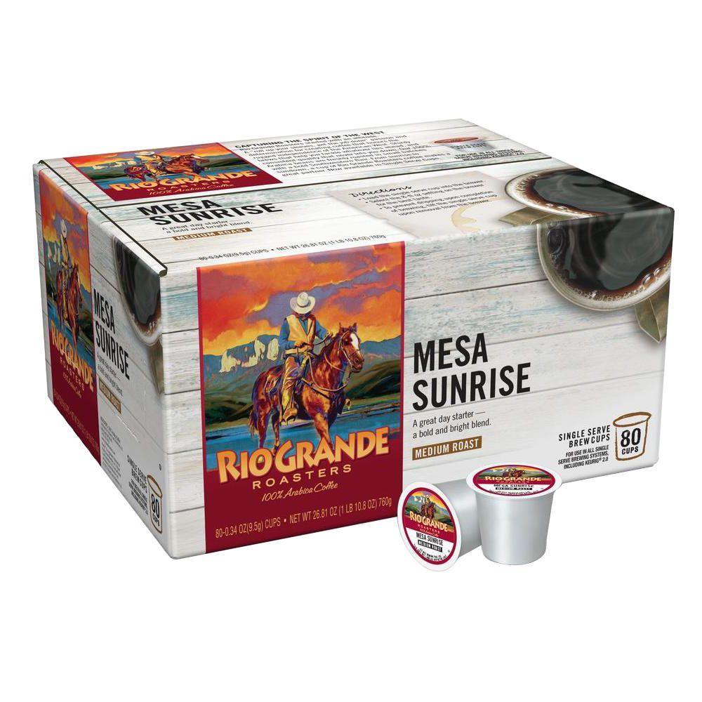 Mesa Sunrise Coffee (80 Single Serve Cups per Case)