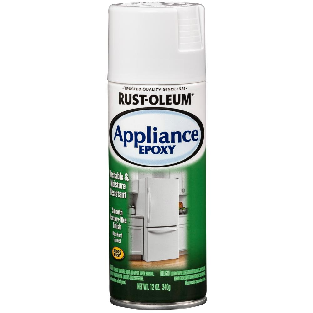 Rust-Oleum Specialty 12 oz. Appliance Gloss White Epoxy Spray Paint